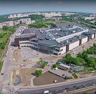 Budowa jednego z największych centrów handlowych w Poslce