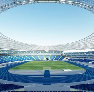 Stadion Śląski z drona