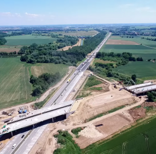 Rok budowy drogi S3 Legnica (A4)