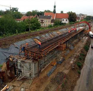 [Kraków] Budowa nowoczesnych estakad kolejowych