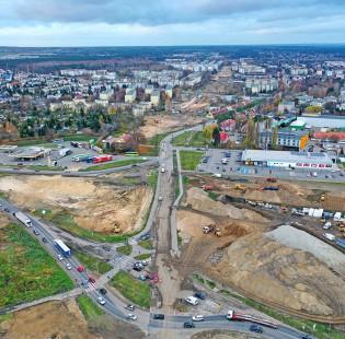 [Poznań] Budowa trasy tramwajowej na Naramowice [25/11/2020]