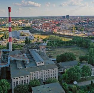 [Poznań] Wyburzenie komina EC Garbary