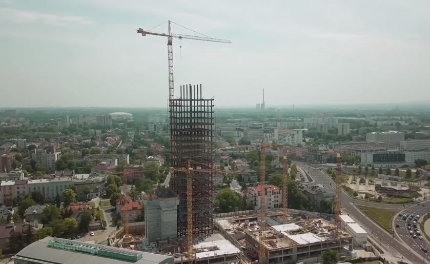 [Kraków] Przebudowa Szkieletora w Unity Tower