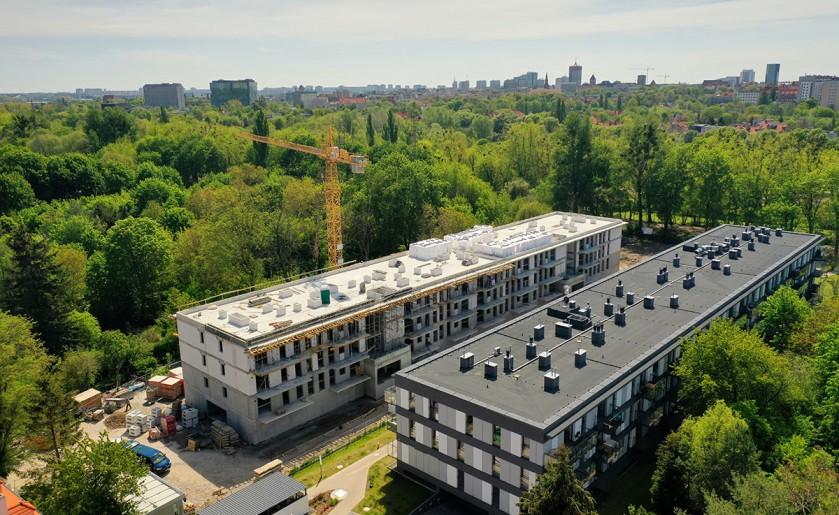 [Poznań] Trwa budowa 60 mieszkań na Sołaczu
